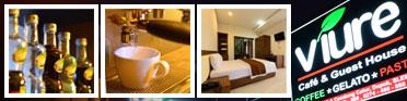 VIURE CAFE & GUEST HOUSE - Enjoy 24-hour Life in Jogja