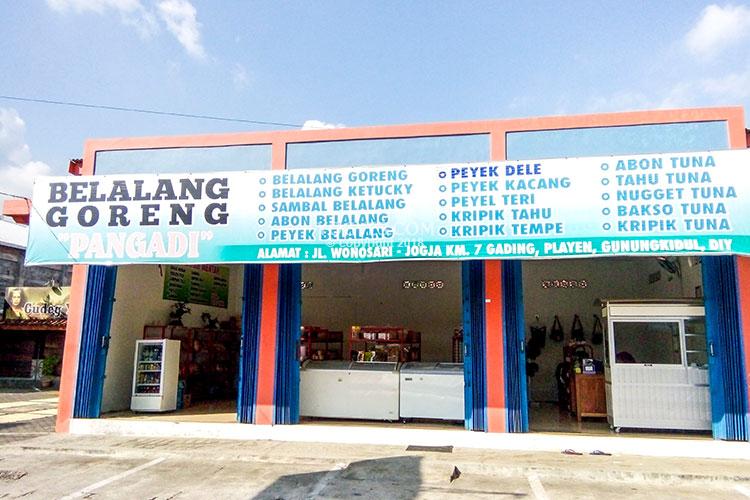 toko oleh oleh belalang goreng pangadi