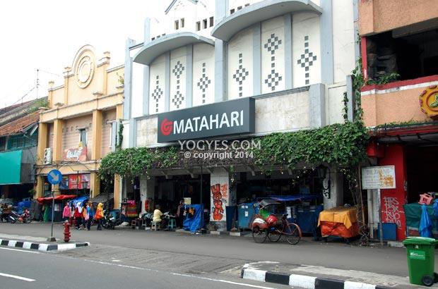 matahari department store malioboro
