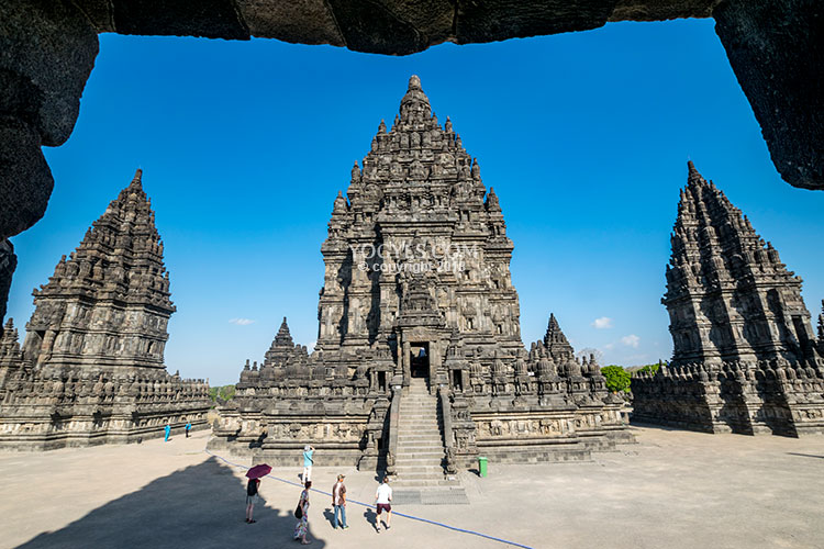 PRAMBANAN TEMPLE - A Timeless Love Story in a Temple Basking